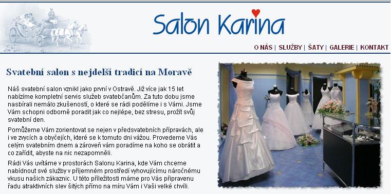 Salon Karina Svatebni Salon Ostrava Shopping